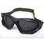 Tactical Metal Mesh Glasses (Black)