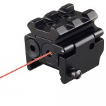 Tactical Low Profile Red Laser Dot with Rail Mount