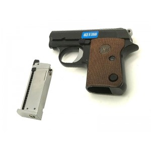WE CT25 1908 Gas Blowback Pistol (Black)