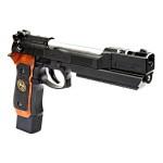 WE Barry Burton  M9 Custom Stars GBB Pistol