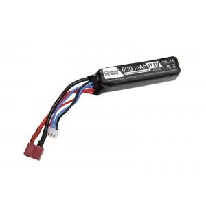 LiPo 11.1V 600mAh 20/40C Battery for PDW