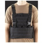 SWISS ARMS Molle System Tactical Vest (BLACK)
