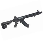 Bolt KeyMod BR47 EBR with Inbuilt Suppressor (Black) (Hard Kick Recoil System)