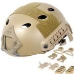 Fast Helmet with Rails (Tan)