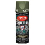 Krylon Camouflage Paint - Woodland Light Green 4296