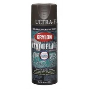 Krylon Camouflage Paint - Brown 4292