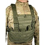 SWISS ARMS Molle System  Tactical  Vest (OD GREEN)