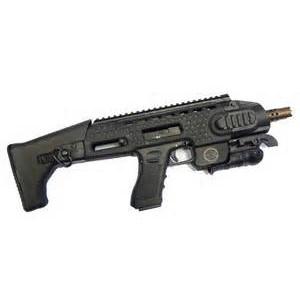 APS Carbine Action Combat Glock 17/18C Carbine Kit Black